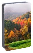 Autumn In New York Portable Battery Charger