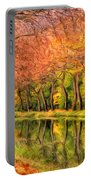 Autumn In Provence Portable Battery Charger