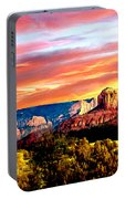 Autumn In Red Rock State Park Portable Battery Charger