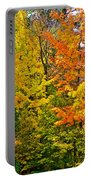 Autumn In Southwest Michigan Portable Battery Charger