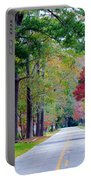 Autumn In The Air Portable Battery Charger