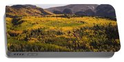 Autumn In The Colorado Mountains Portable Battery Charger