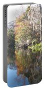 Autumn In A Swamp Portable Battery Charger