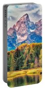 Autumn In The Tetons Portable Battery Charger