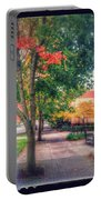 Autumn In Vancouver Washington Portable Battery Charger