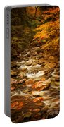 Autumn In Vermont Portable Battery Charger