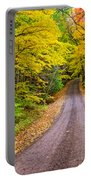 Autumn Journey Portable Battery Charger