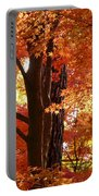 Autumn Leaves Portable Battery Charger by Carol Groenen