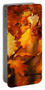 Autumn Leaves Oil Portable Battery Charger