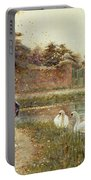 Autumn Leaves Portable Battery Charger by Thomas James Lloyd