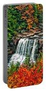 Autumn Magic Paint Portable Battery Charger