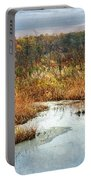 Autumn Marshland Portable Battery Charger
