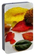Autumn Medley Portable Battery Charger
