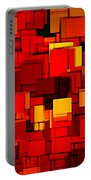 Autumn Modern Abstract Xv Portable Battery Charger