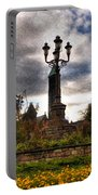 Autumn Morning At Symphony Circle V2 Portable Battery Charger