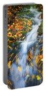 Autumn Mountain Stream Portable Battery Charger