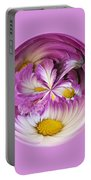 Autumn Mum Orb Abstract Portable Battery Charger