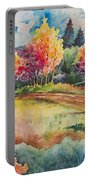 Autumn Near Taos Portable Battery Charger