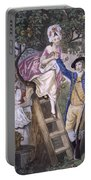 Autumn, Negro Servant, C.1780 Portable Battery Charger