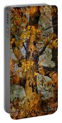 Autumn Oaks In Dance Mode Portable Battery Charger