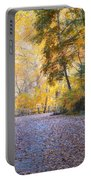 Autumn On Forbidden Drive Portable Battery Charger