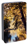 Autumn On The Applegate Portable Battery Charger