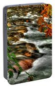 Autumn On The River Portable Battery Charger