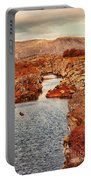 Autumn Or Fall Portable Battery Charger by Jasna Buncic