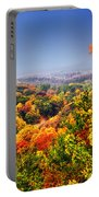 Autumn Over The Rolling Hills Portable Battery Charger