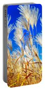 Autumn Pampas Portable Battery Charger