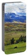 Autumn Pastural Setting Portable Battery Charger