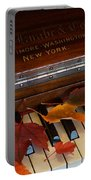 Autumn Piano 1 Portable Battery Charger