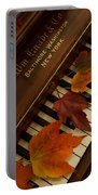 Autumn Piano 11 Portable Battery Charger
