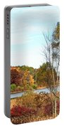 Mendon Ponds In Autumn Portable Battery Charger
