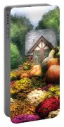 Autumn - Pumpkin - This Years Harvest Was Awesome  Portable Battery Charger