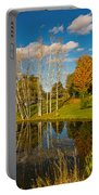 Autumn Reflecting Portable Battery Charger