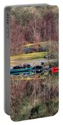 Autumn Reflections Portable Battery Charger by Adrian Evans