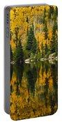 Autumn Reflections At Bear Lake Portable Battery Charger