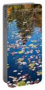 Autumn Reflections Portable Battery Charger by Bill Wakeley
