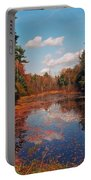 Autumn Reflections Portable Battery Charger by Joann Vitali