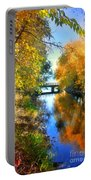 Autumn Reflections On A Friday Afternoon Portable Battery Charger