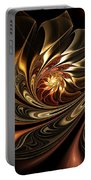 Autumn Reverie Abstract Portable Battery Charger