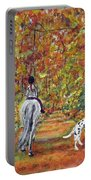 Autumn Ride Portable Battery Charger