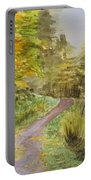 Autumn Riverside Walk Version1 Portable Battery Charger