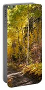 Autumn Road - Tipton Canyon - Casper Mountain - Casper Wyoming Portable Battery Charger