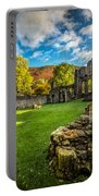 Autumn Ruins Portable Battery Charger by Adrian Evans