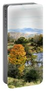 Autumn Rural Scene Portable Battery Charger