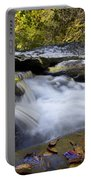 Autumn Rushing Water Portable Battery Charger