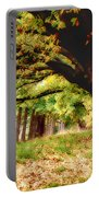 Autumn Shelter Portable Battery Charger
