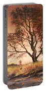 Autumn Simphony In France  Portable Battery Charger